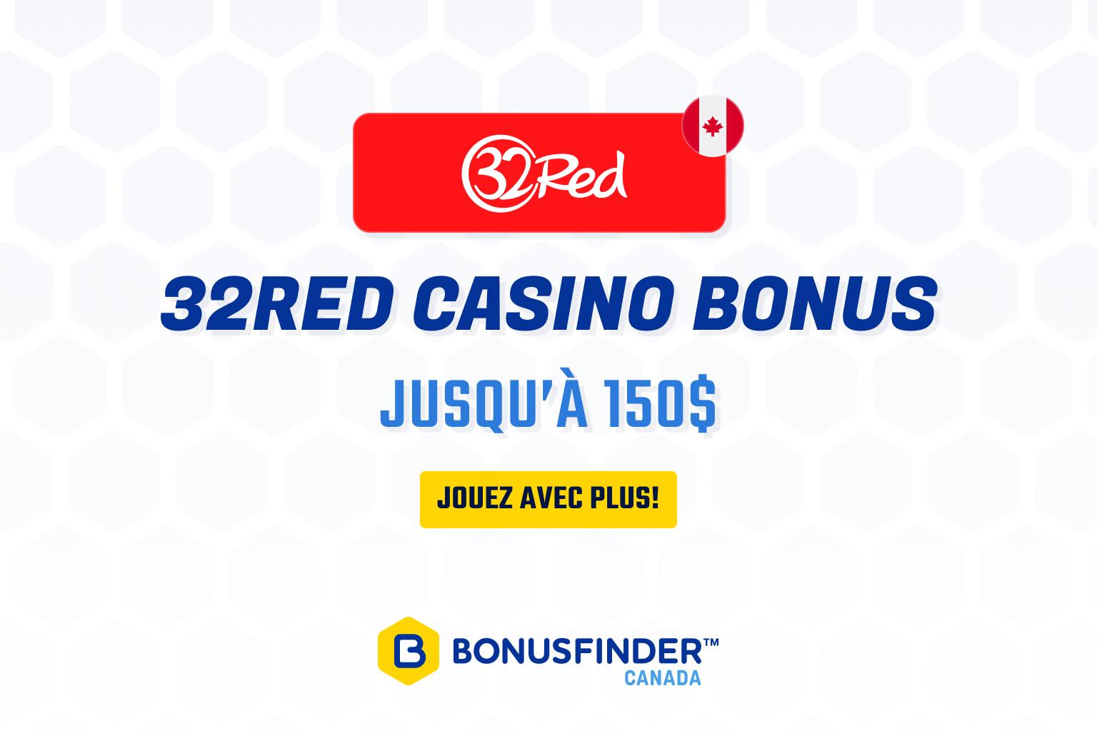 32red casino bonus