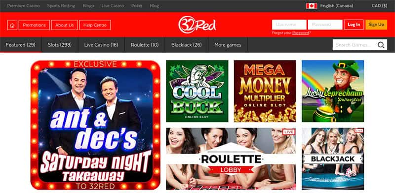 32red casino en ligne