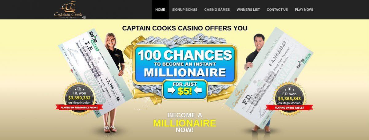 Captain Cook Bonus