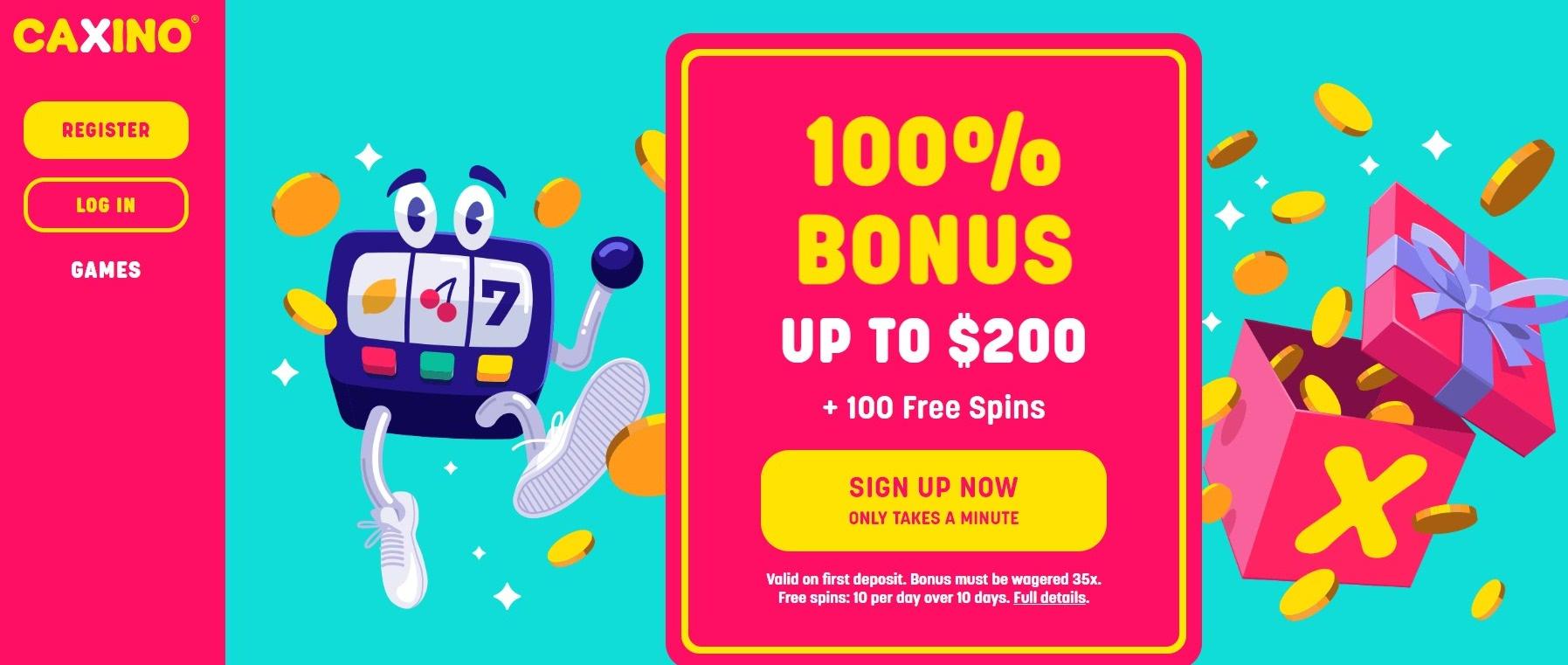 Caxino Casino Bonus