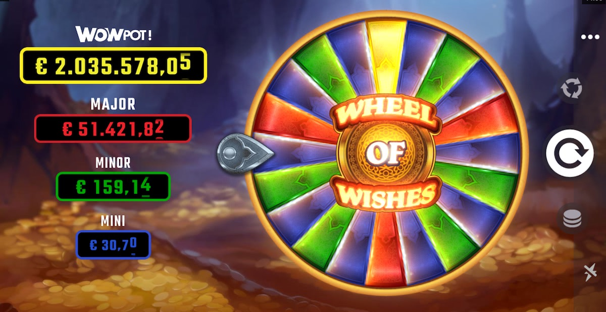 machines a sous wheel of wishes