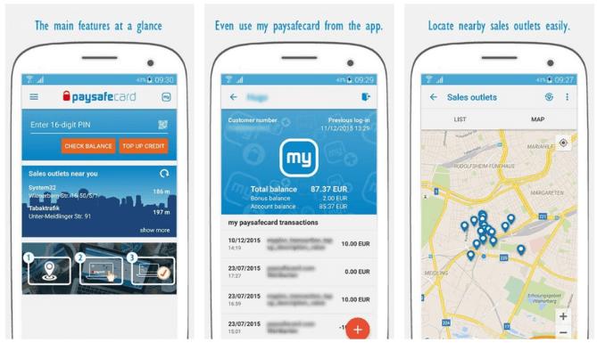 app paysafecard