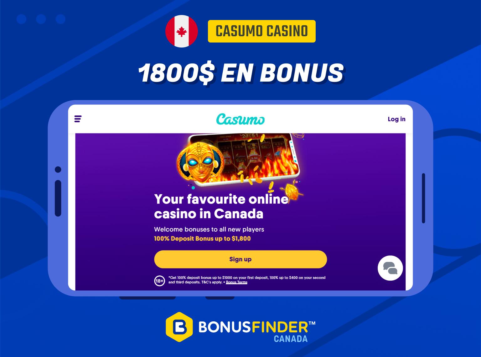 bonus casumo
