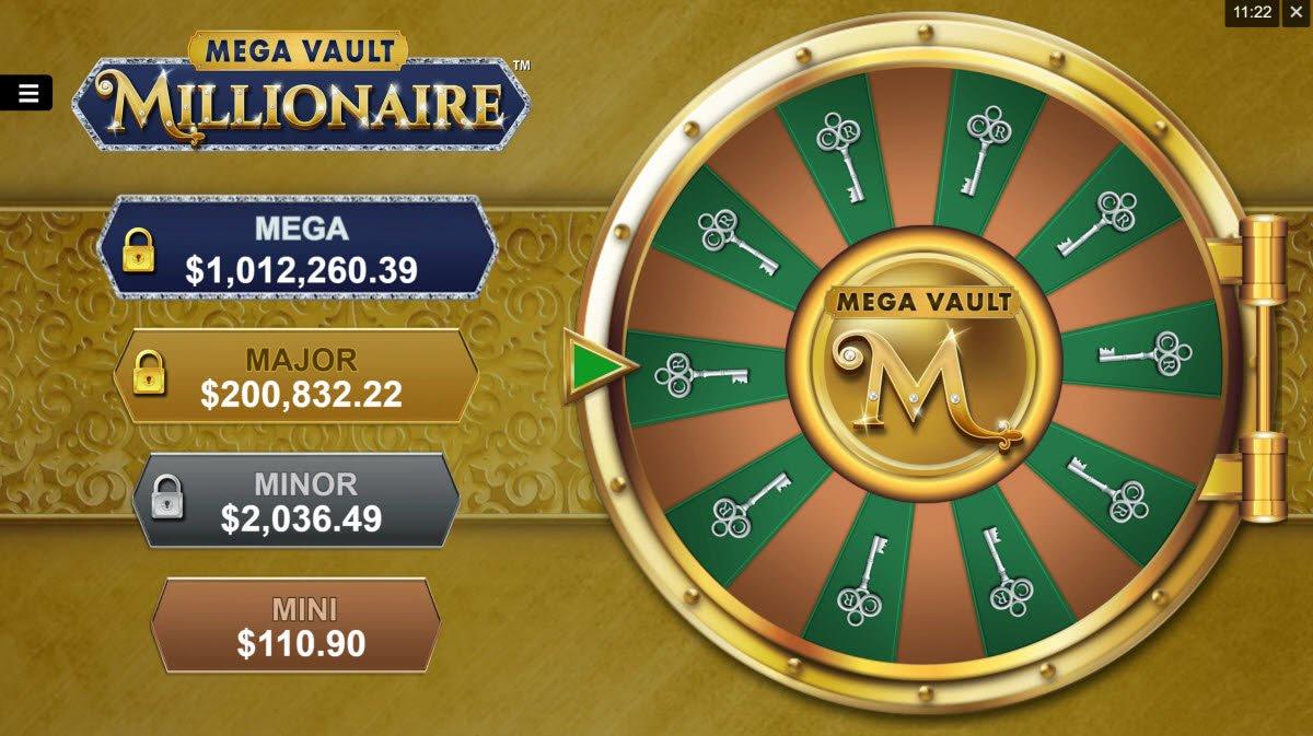 bonus mega vault millionaire