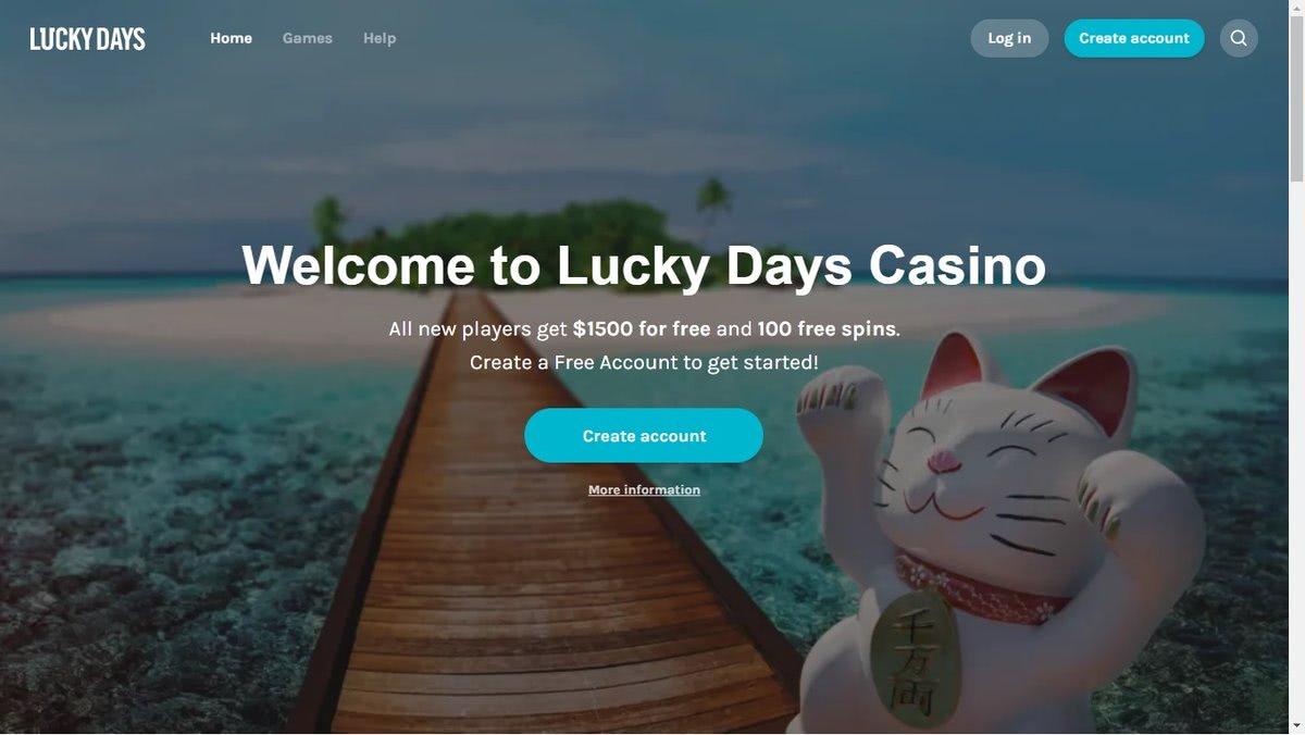 bonus lucky days