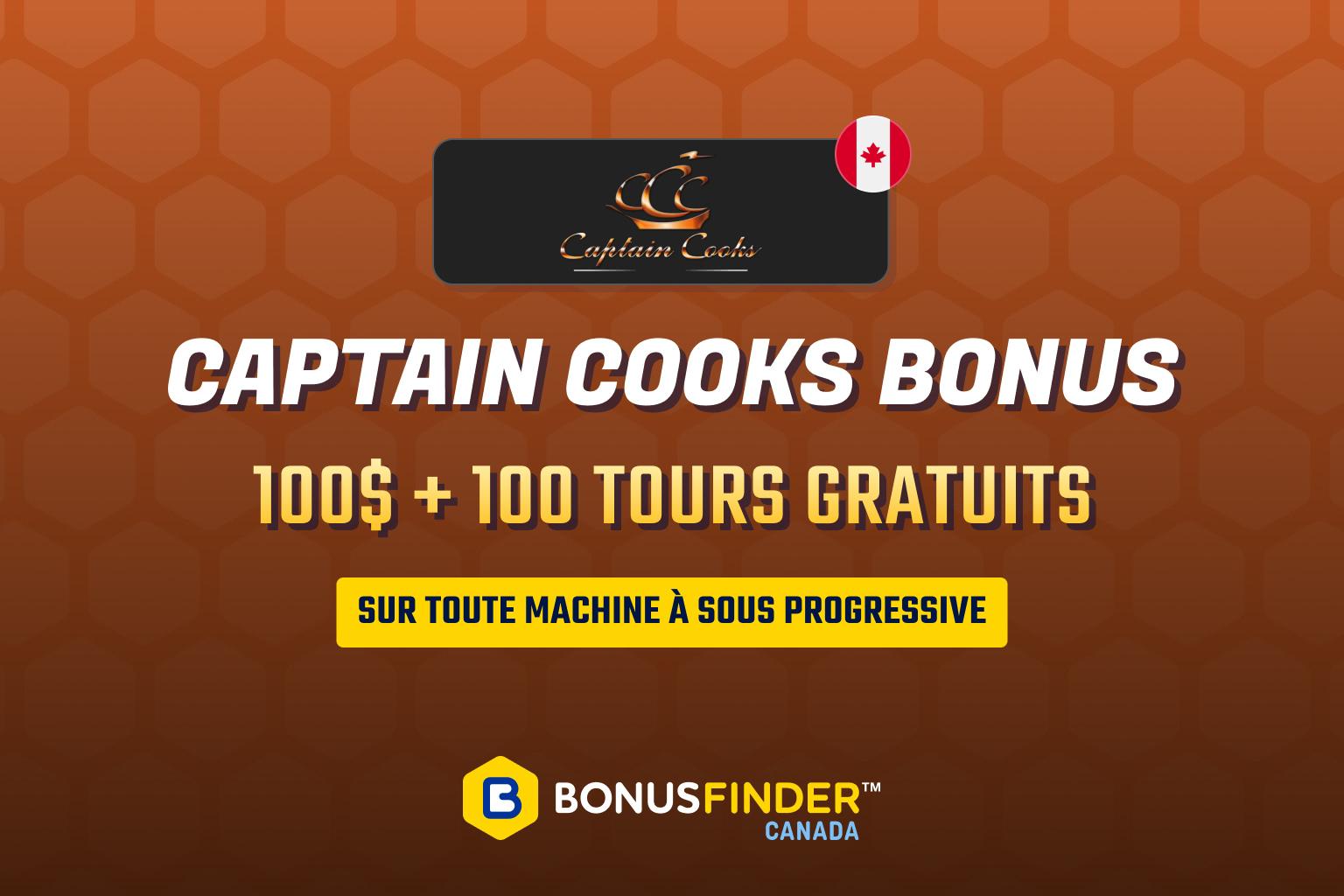 captain cooks casino bonus