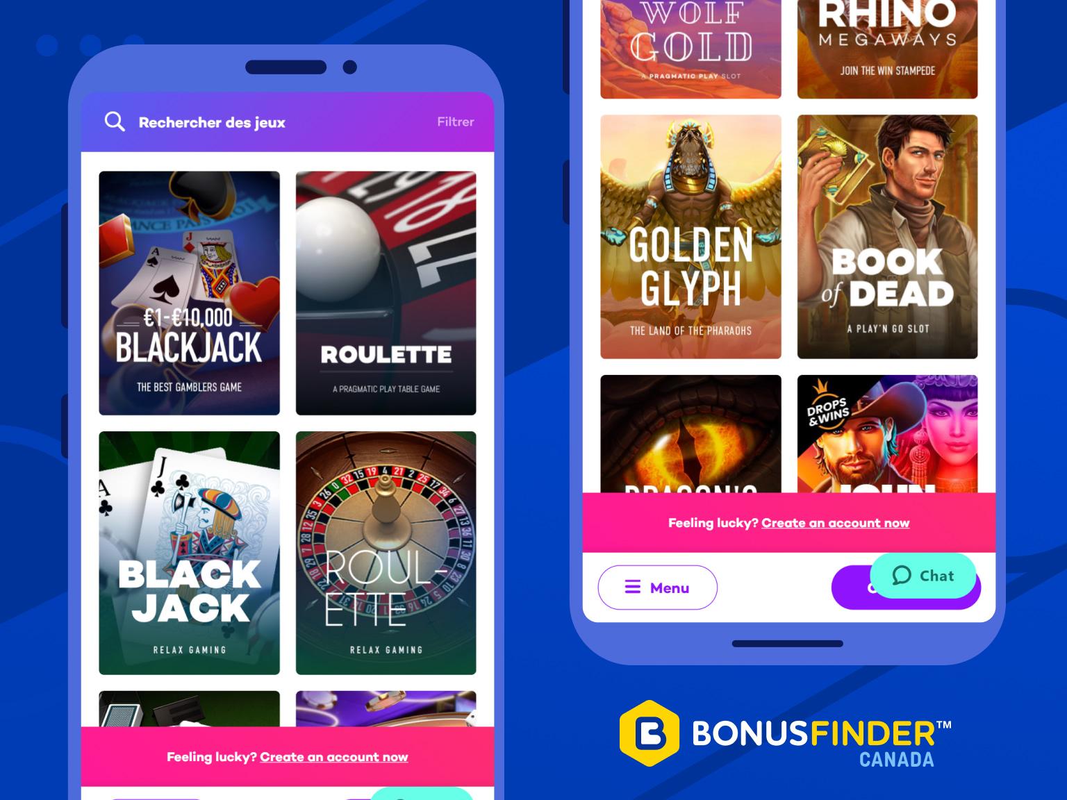 casino 21.com jeux