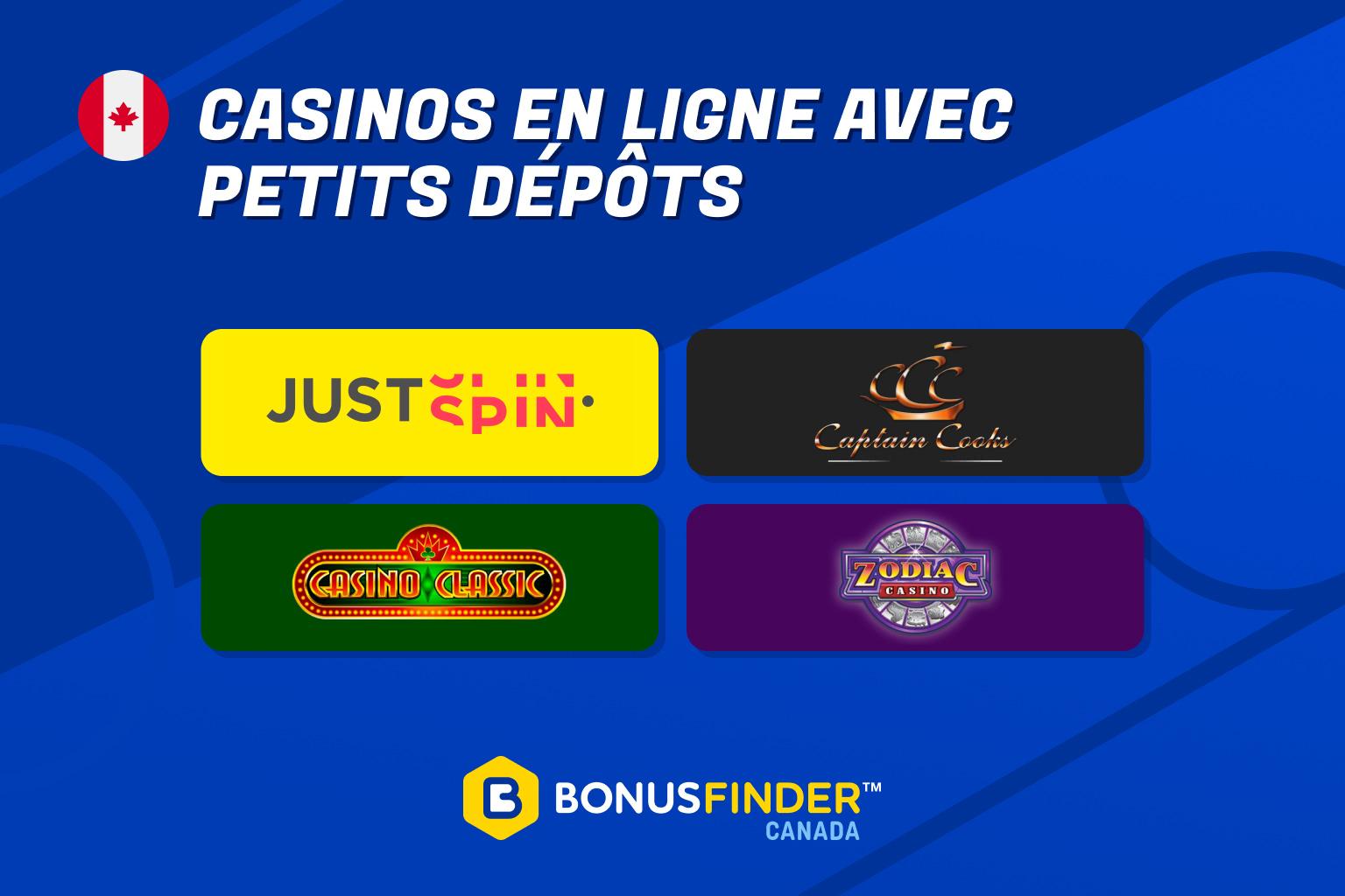 casino en ligne 1$