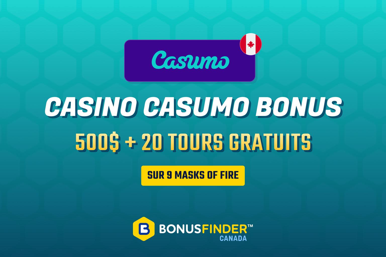 bonus casumo tours gratuits