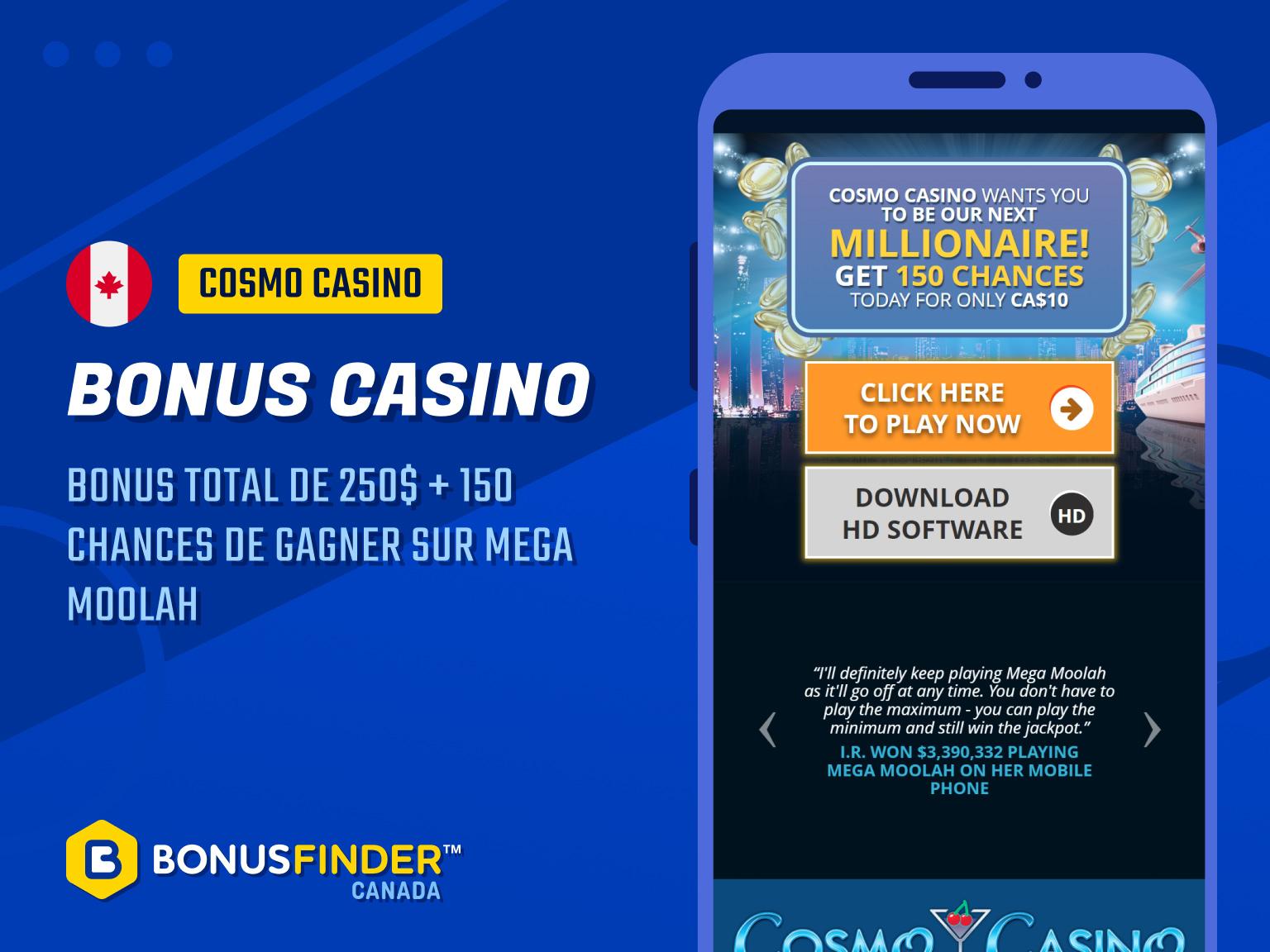 cosmo casino rewards
