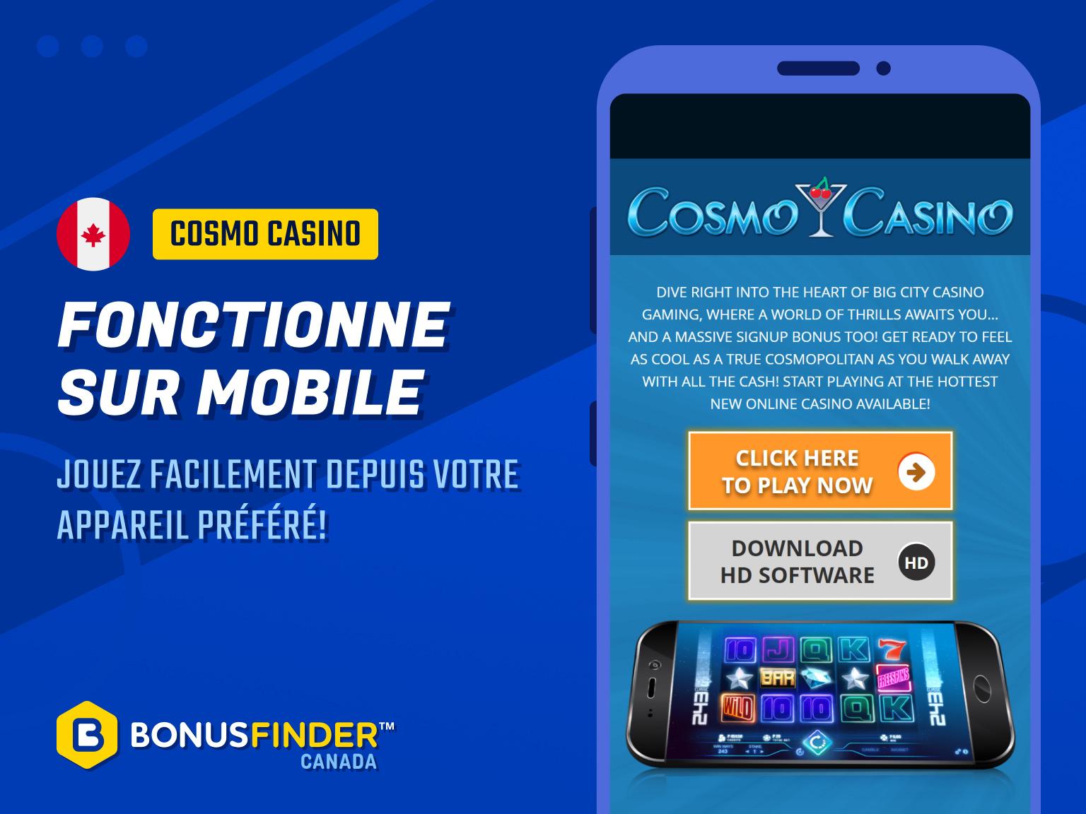 cosmo casino mobile