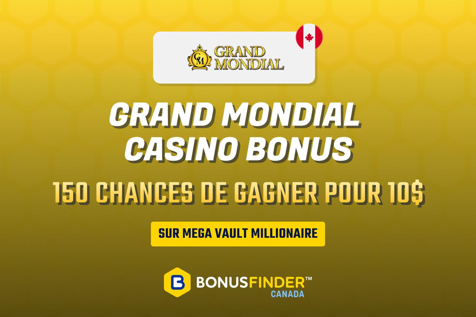 casino grand mondial bonus