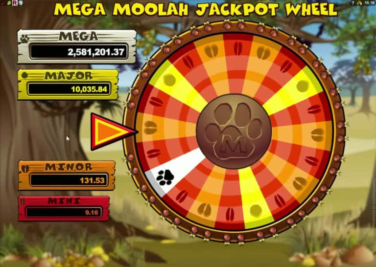 jackpot mega moolah