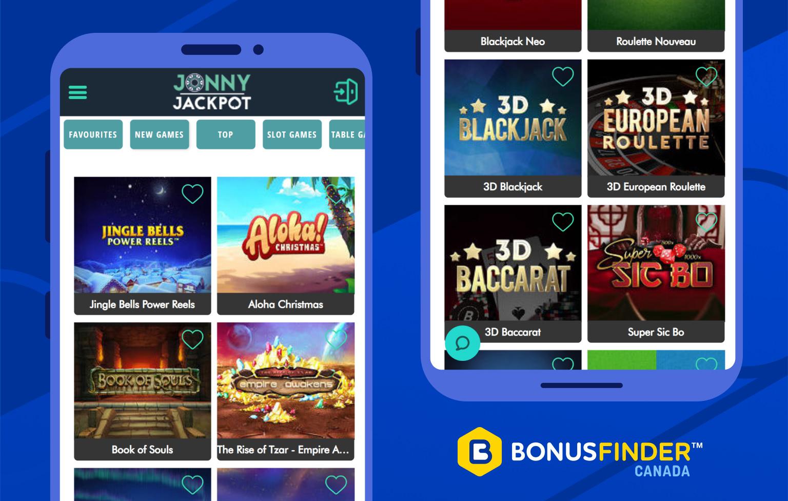 jonny jackpot casino jeux