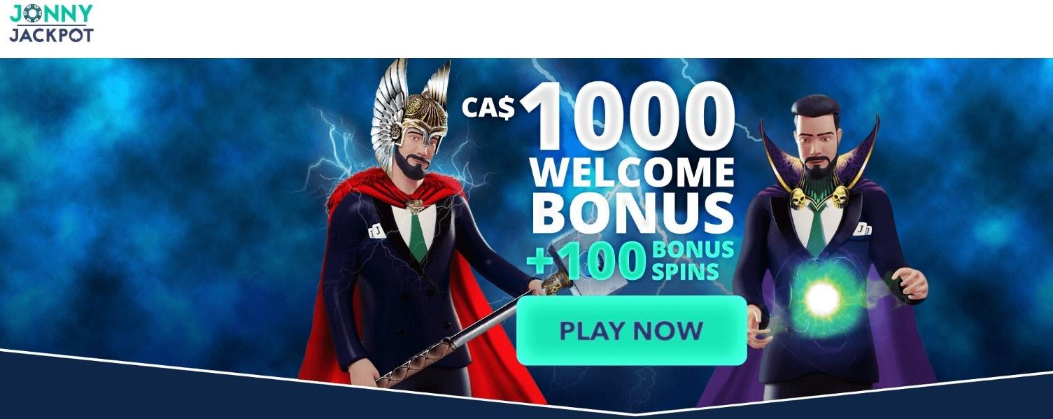 jonnyjackpot bonus