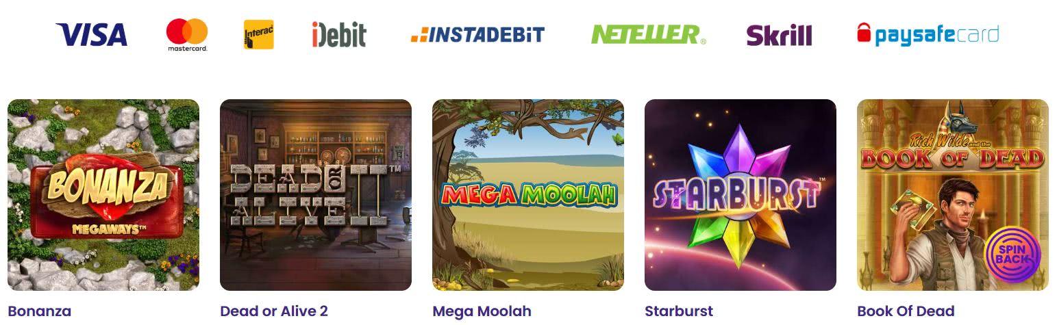 méthodes bancaires wildz casino