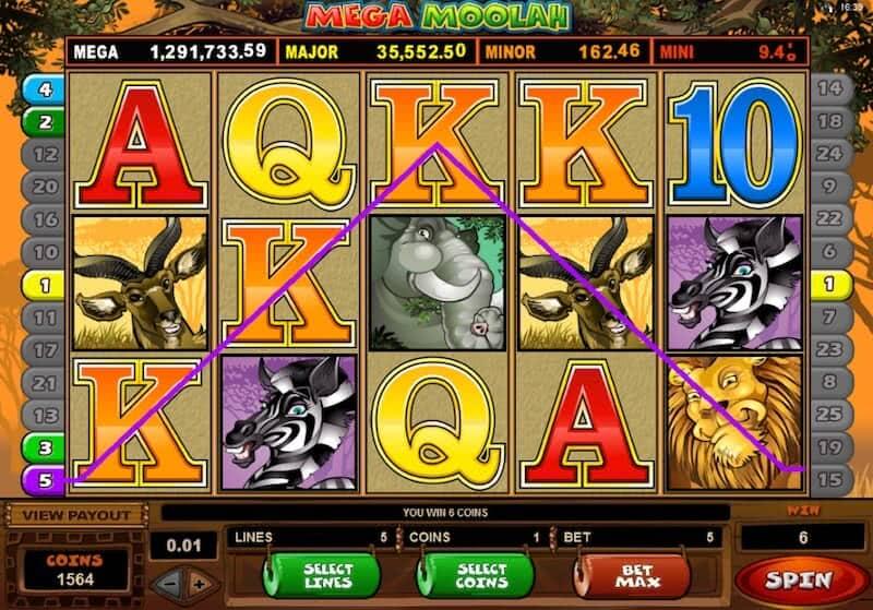 mega moolah slot machine
