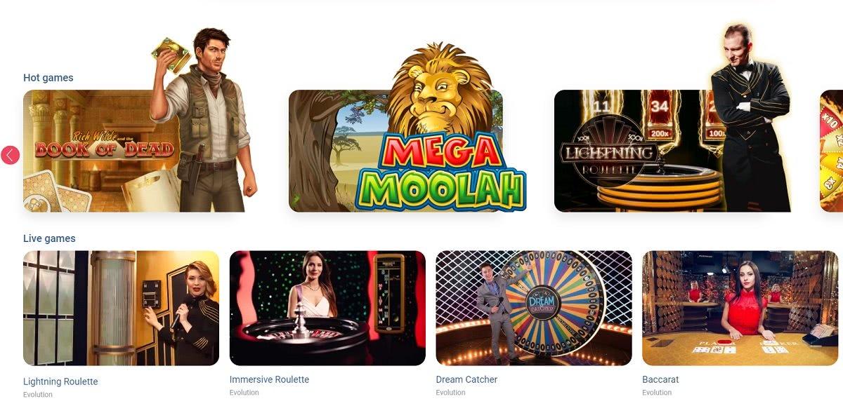 Omnia Casino Jeux en Ligne