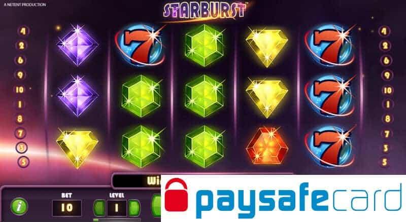 paysafecard casino bonus