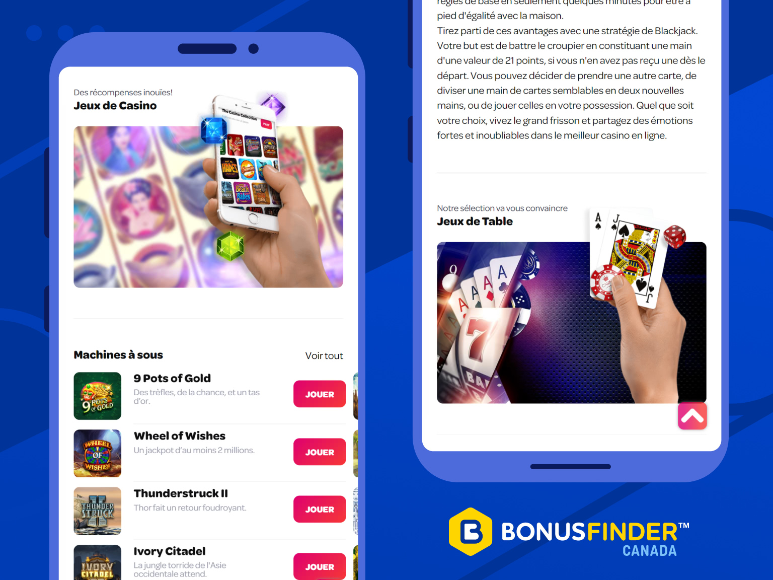 spin casino jeux