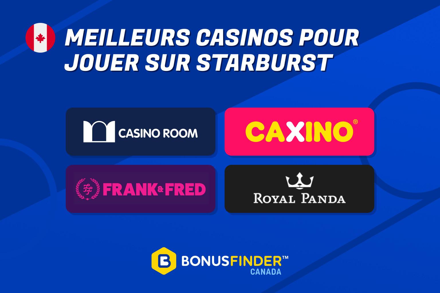 starburst casinos
