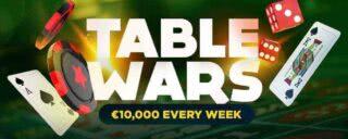 table wars bitstarz