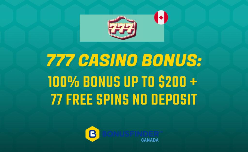 777 Casino Bonus