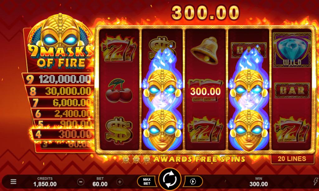 Casumo no deposit bonus game