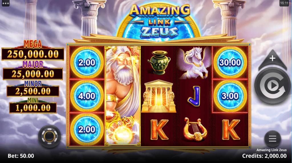 Amazing Link Zeus slot