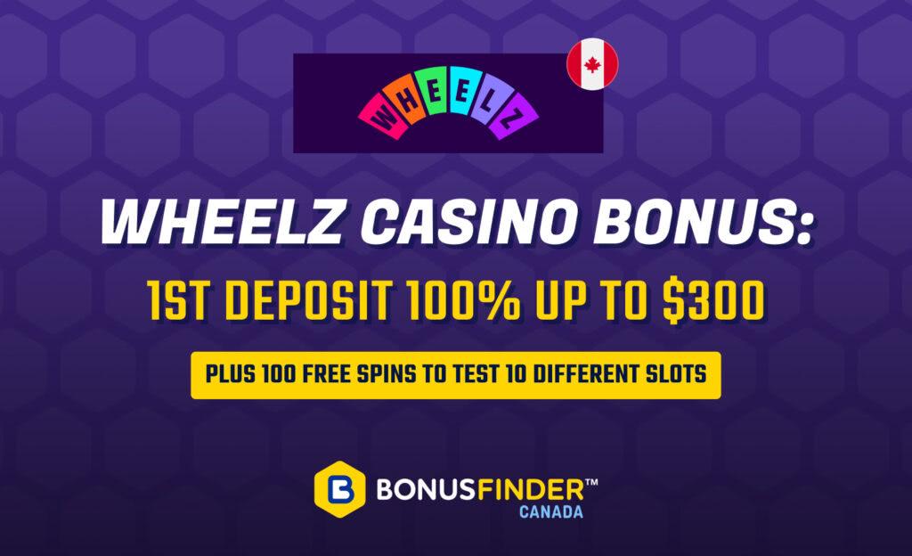 Wheelz Casino Bonus