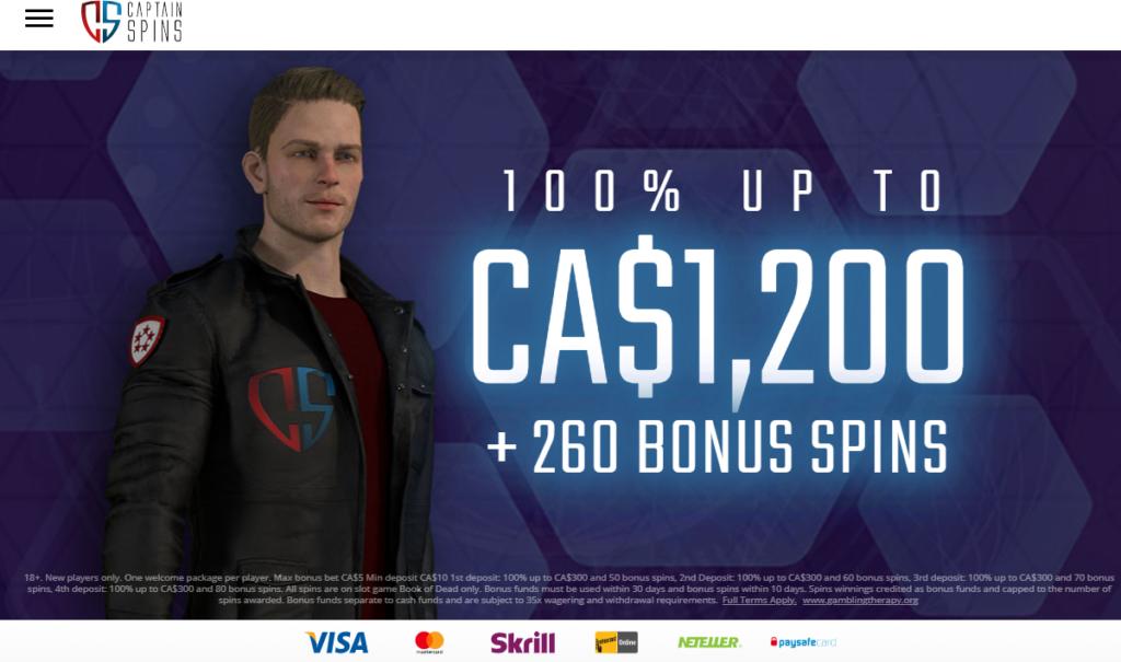 Captain Spins Casino