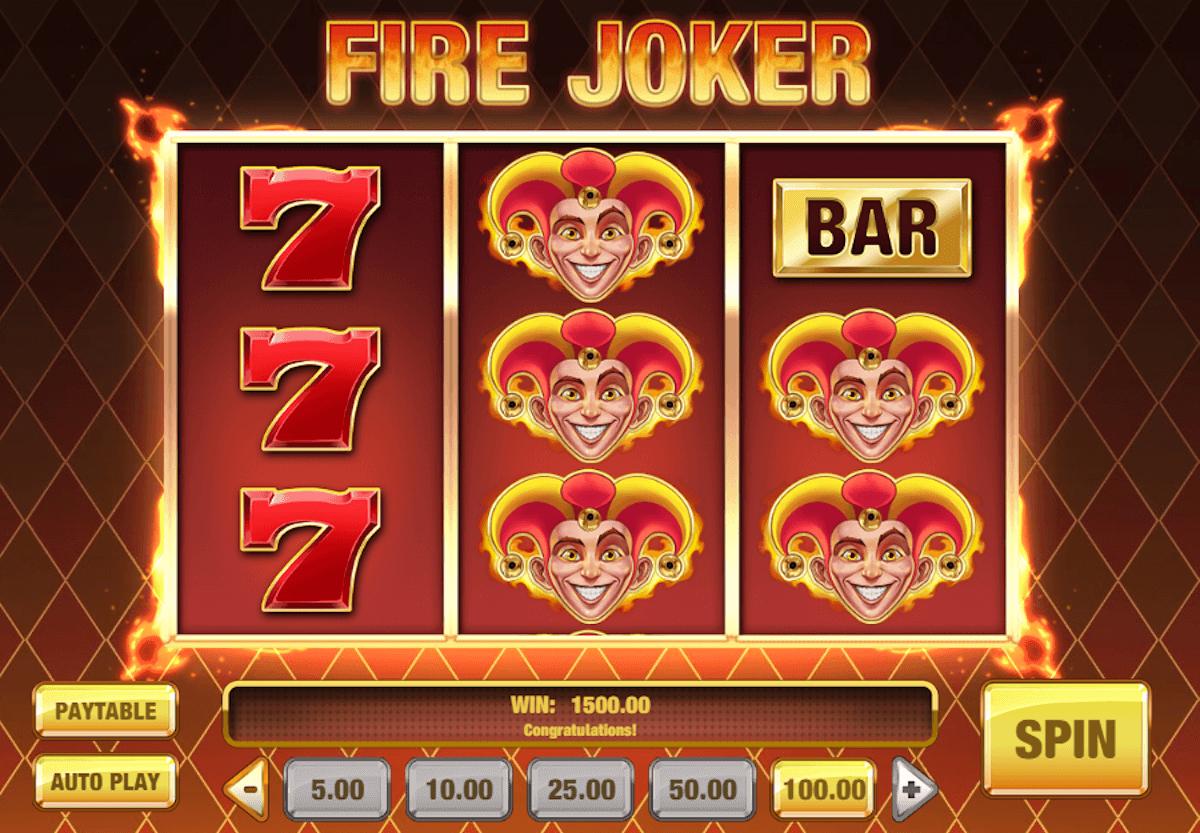 Fire Joker slot game