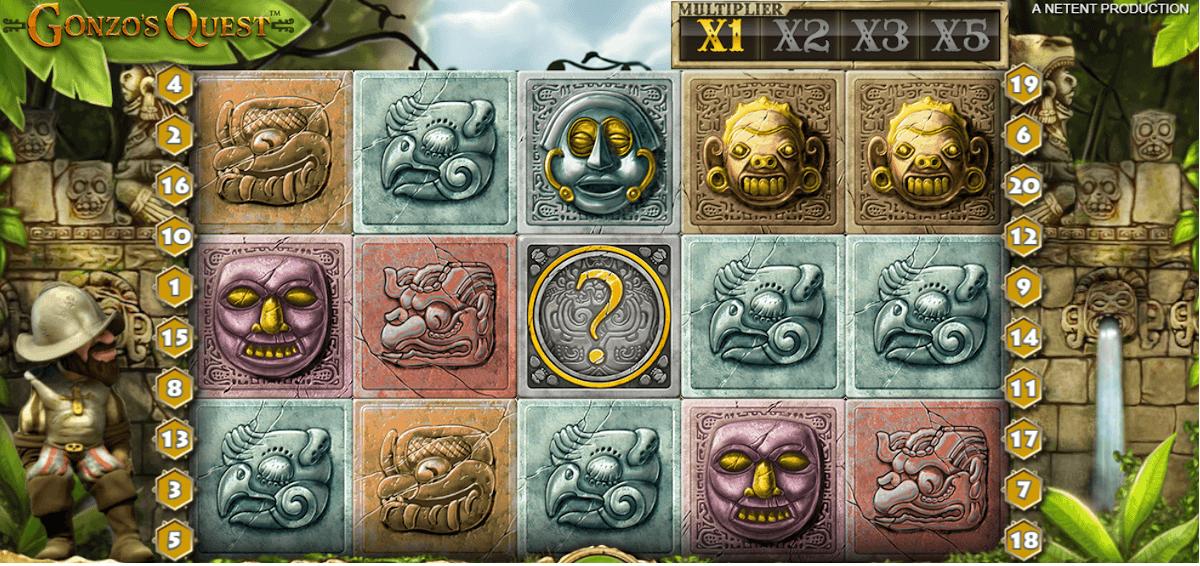 Gonzos Quest online casino slot