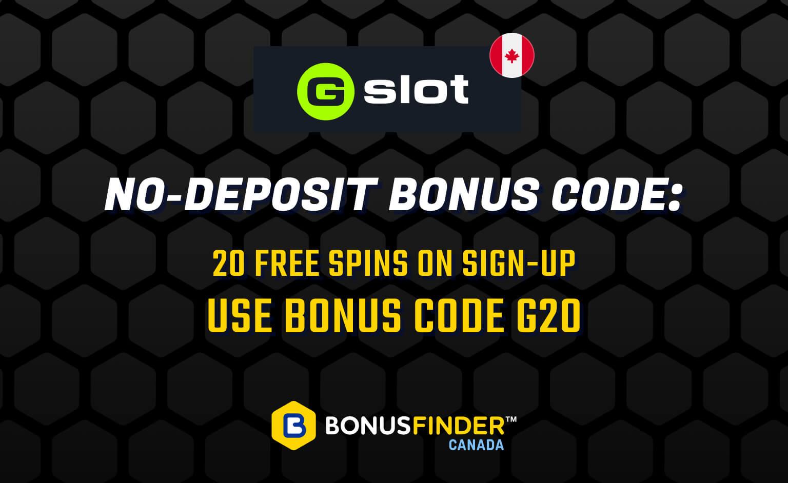Gslot No-Deposit Bonus Code