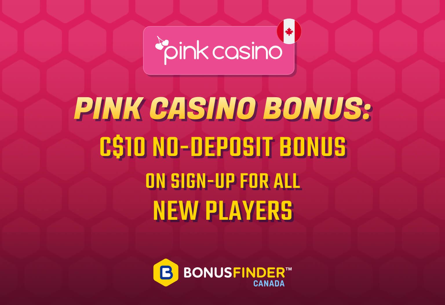 Pink Casino No-Deposit Bonus