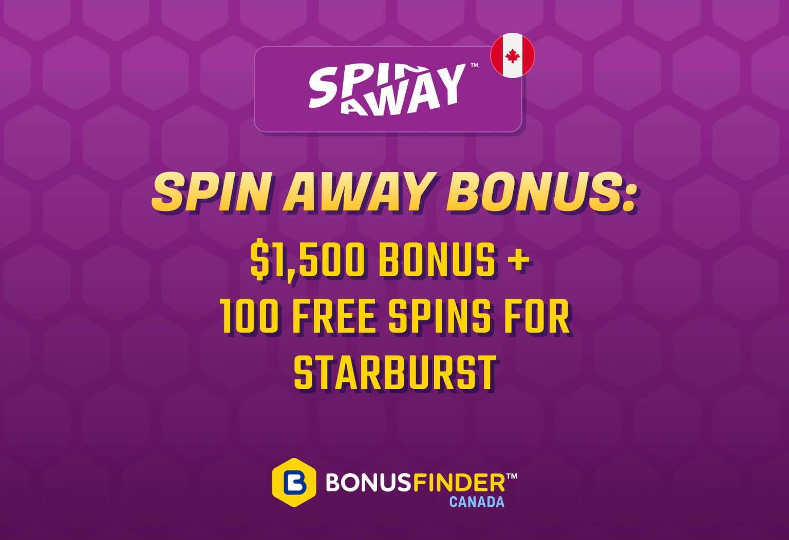 Spin Away Bonus
