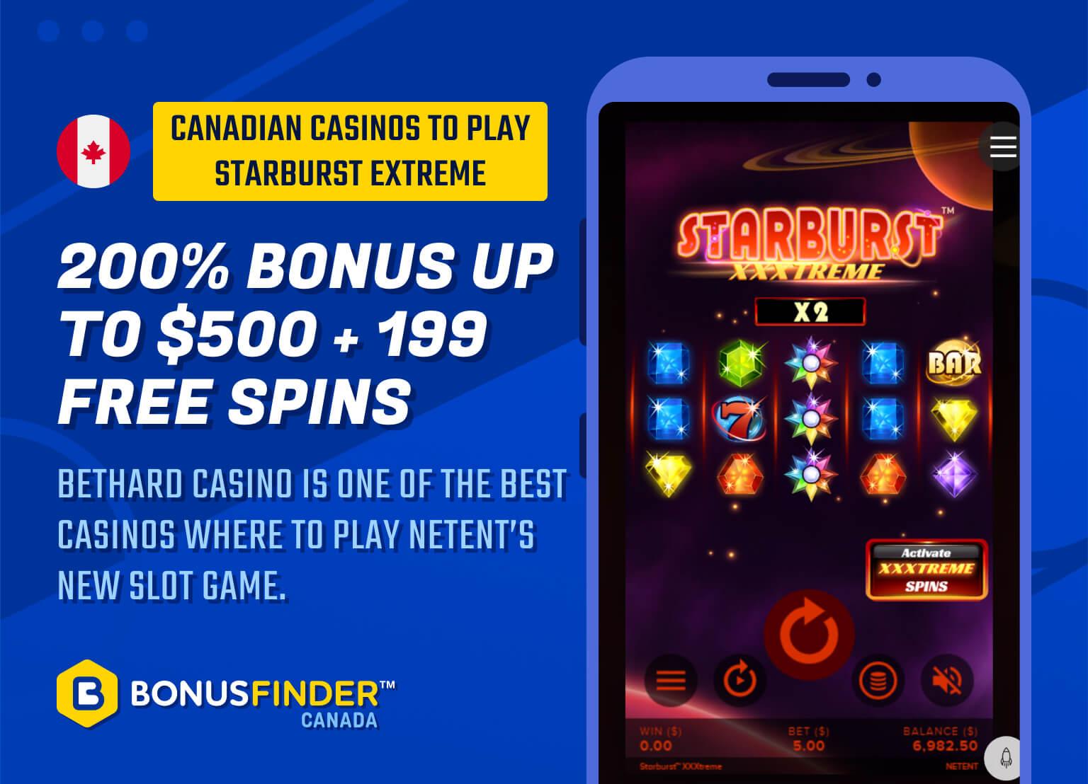 Starburst Extreme casino