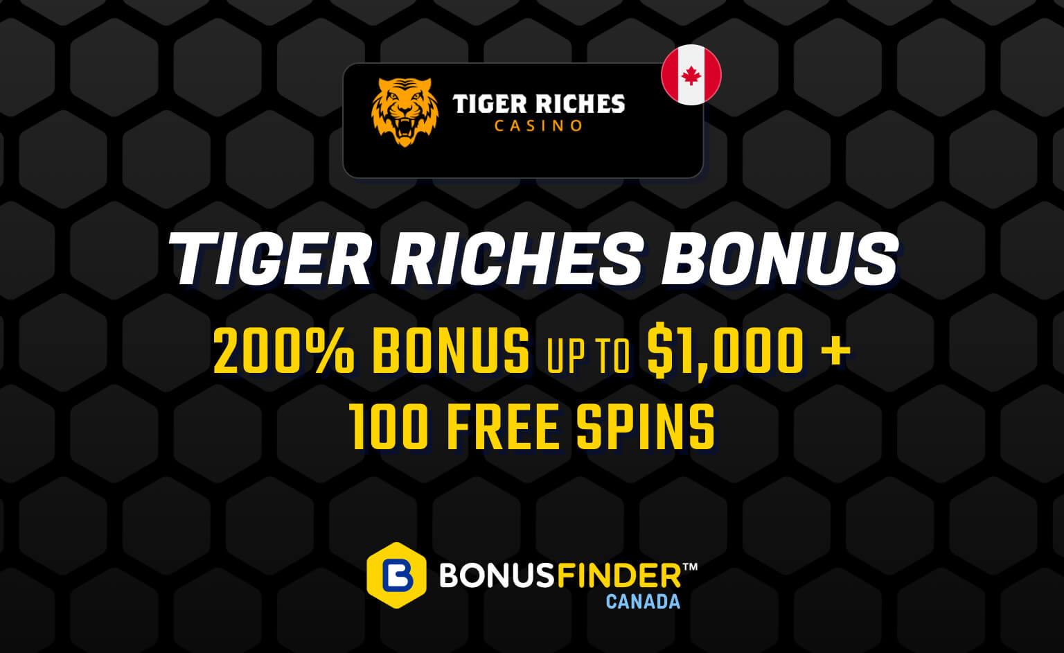 Tiger Riches Bonus
