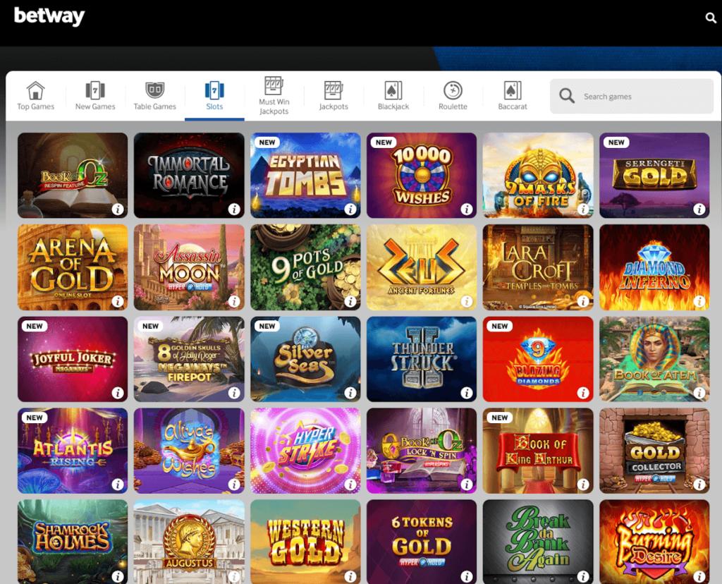 slots options