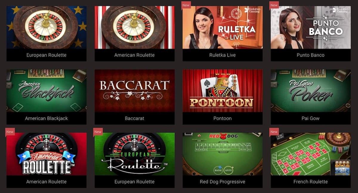 bitstarz roulette blackjack punto banco