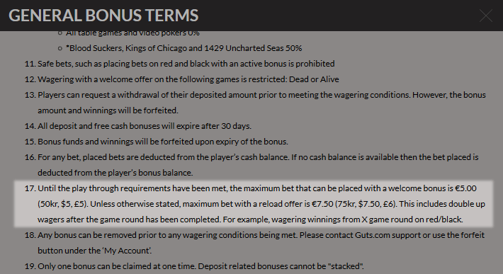 best casino sign up bonus