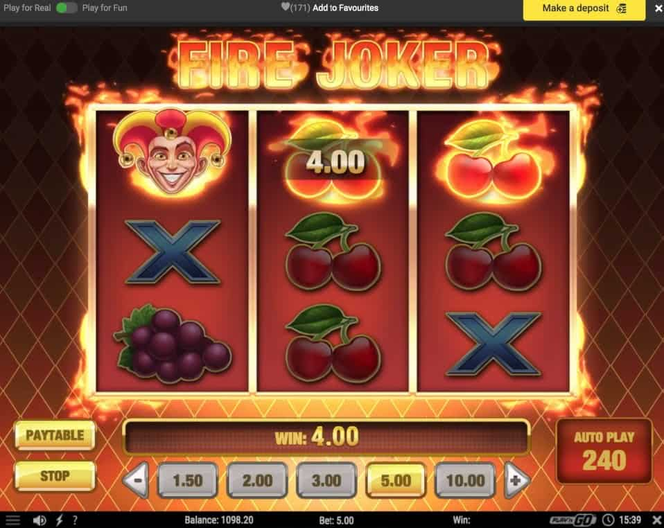 300 fire joker free spins sloty