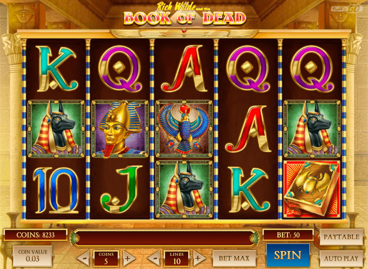 Book of Dead Slot Review Canada