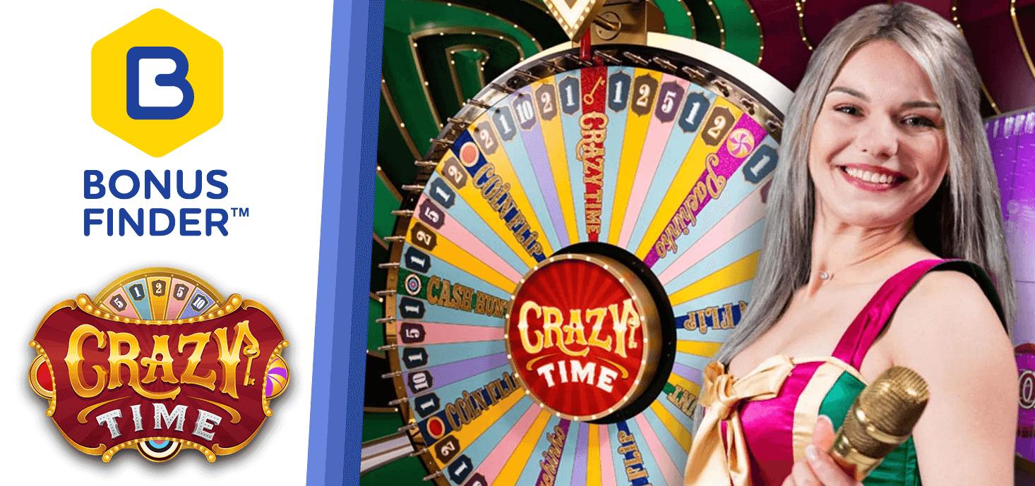 crazy time casino bonus