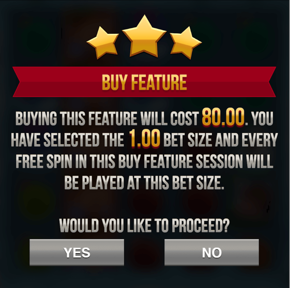 feature buy slots