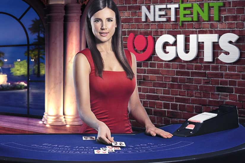 Win up to $500 playing NetEnt Live Blackjack at Guts!