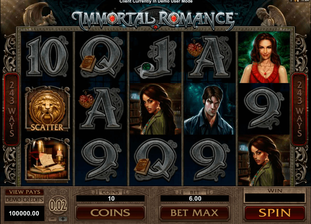 Immortal Romance Slot Review Canada