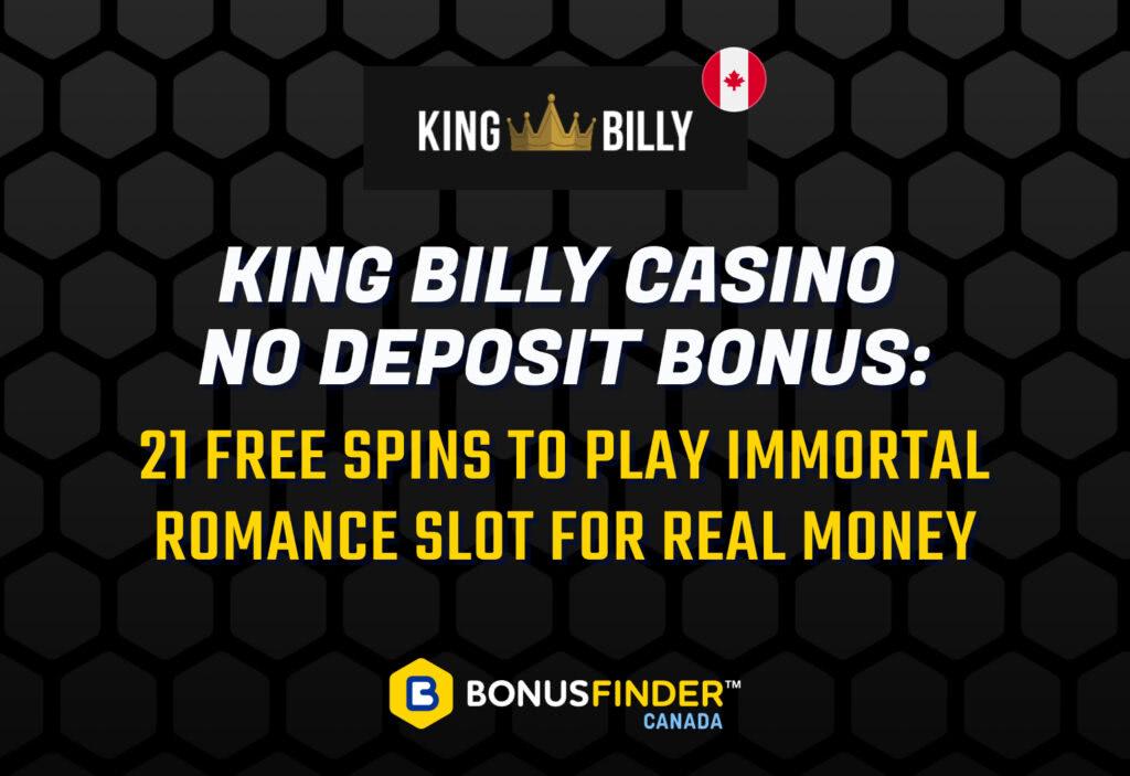 King Billy No Deposit Bonus