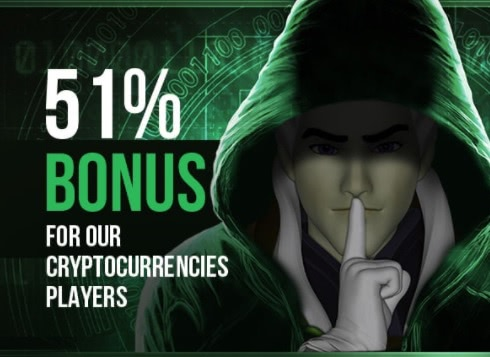 51% weekly bonus for crypto players on King Billy Casino