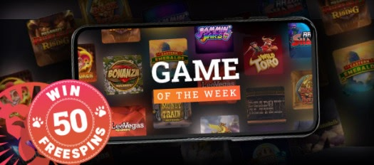Participate in LeoVegas's social media campaign for a chance to win 50 free spins